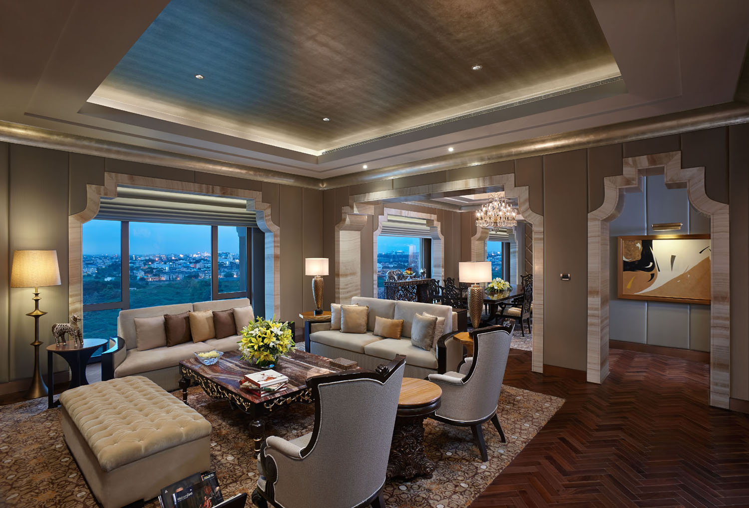Grand Presidential Suite Sitting Room